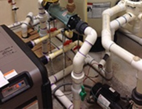 CN400Ti Titanium Heat Exchanger Warms Seniors Heated Indoor Swimming Pool
