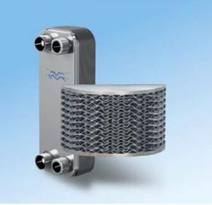 Fusion-bonded plate heat exchangers (AlfaNova)