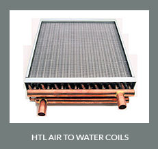 HTL Air to Water Coils