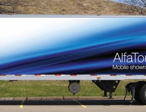 Driving Innovation: The AlfaTour Mobile showroom