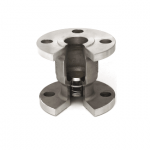 horizontal-vertical flanged and drilled-hv